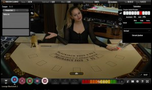 salon prive VIP Live Blackjack