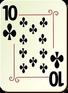 blackjack kaart