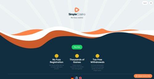 liveblackjack.nl review online casino simple casino screenshot homepage