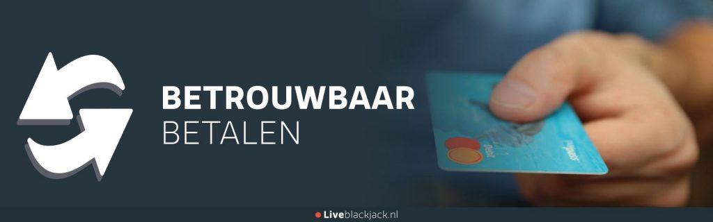 liveblackjack.nl - betrouwbaar betalen